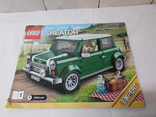 Solo Manual Lego Creator Expert Mini Cooper 10242