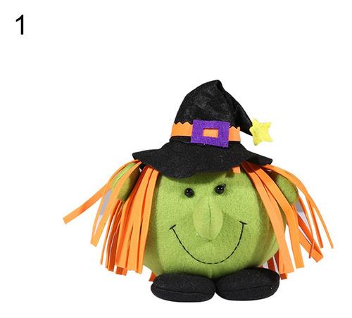 Halloween Abóbora Bruxa Boneca Festa Casa Shopping Crianças