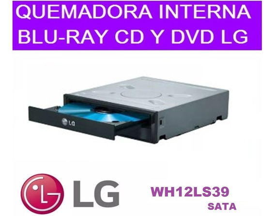 Quemadora Cd Dvd Blu-ray Interno Sata Pc Lg