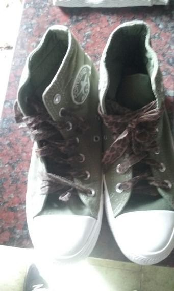Zapatillas All Star Converse Verdes Hombre -mujer
