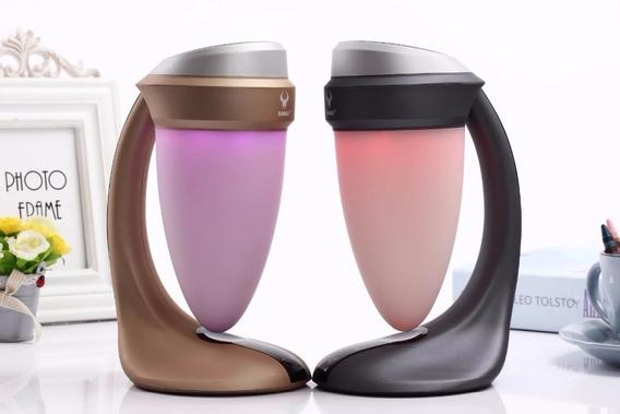 Caixa De Som Bluetooth Speaker Daniu Copo Lâmpada Luz