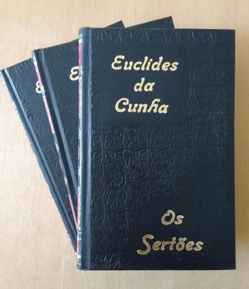 Euclides Da Cunha - Os Sertões Volumes 1,2,3. (usados)