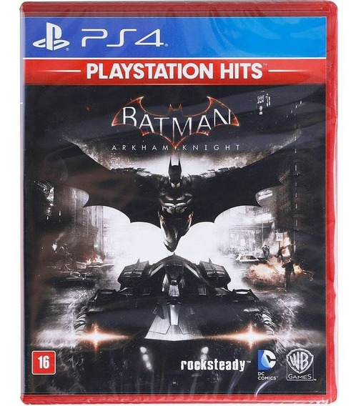 Batman Arkham Knight Ps4 Mídia Física Dublado Português Br