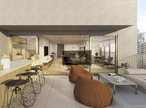 Imagem 1 de 9 de Cobertura Com 2 Dormitórios À Venda, 131 M² Por R$ 5.077.349,00 - Cerqueira César - São Paulo/sp - Co1912