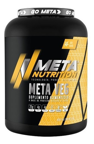 Proteina De Soya Meta Nutrition Meta Veg 5 Lb - 2.2 Kg