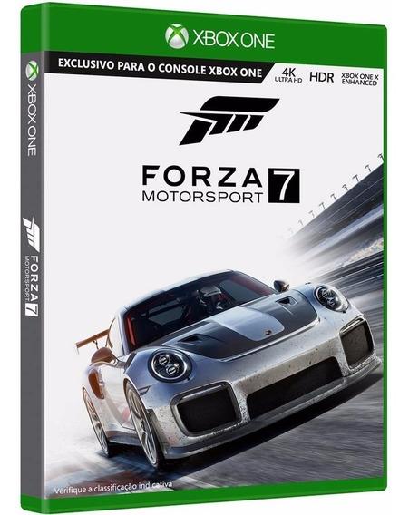 Forza Motorsport 7 - Xbox One - Novo - Física - Português
