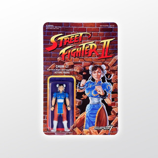 Street Fighter 2 Reaction Chun-li Super 7 Tierra Prima
