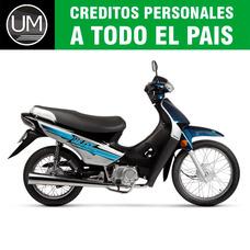 Moto Ciclomotor Motomel Blitz 110 V8 Base Zb Due Smash 0km