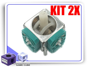 Kit 2x Reparos Analógico Potenciômetro Controle Gamecube