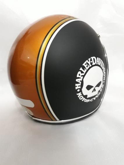 Capacete Urban Helmets Harley., Aberto Custon Rebaixado
