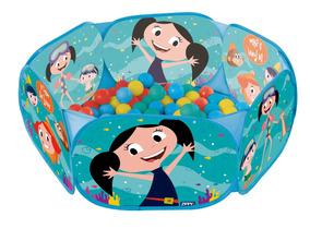 Piscina Show Da Luna Infantil Com 300 Bolinhas