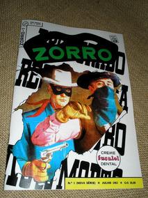 Zorro Nº 01 - Ebal - Ano 1962 - Fac Símile - Heroishq
