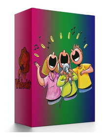 Karaoke Videoke Raf + 8750 Músicas De Ótima Qualidade Atuais