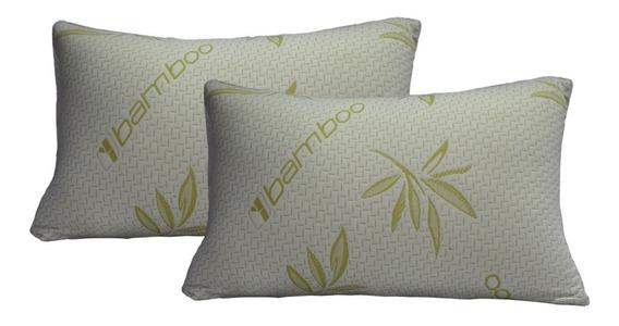 Pack De Almohadas Bamboo De Memory Foam