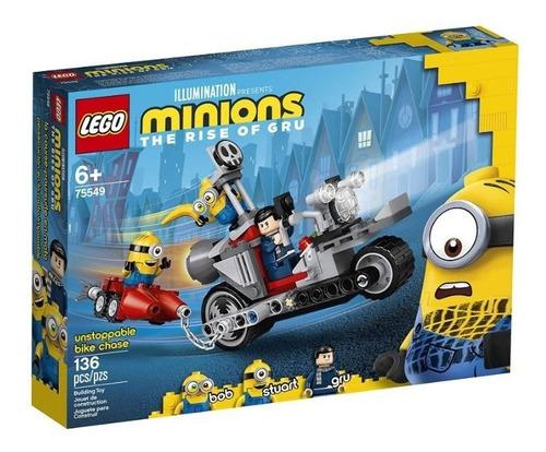 Lego Minions 75549 Bob - Stuart - Gru 136 Pzs Moto De Gru
