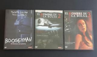 Pack Trilogia El Hombre De La Bolsa - Dvds Originales