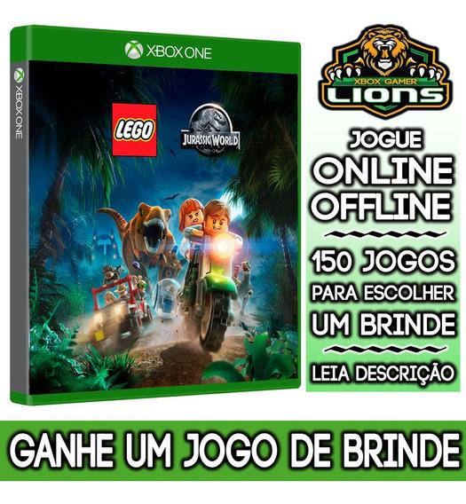 Lego Jurassic World Xbox One + Brinde
