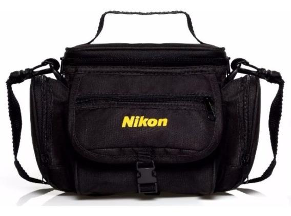 Bolsa Case Nikon Bag C/ Alça L330 L840 L830 P320 D7100 D7000