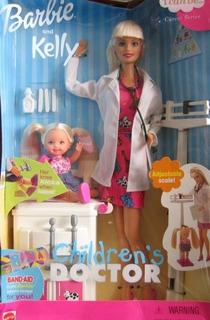 Barbie Y Kelly Childrens Doctor Career Series 2000