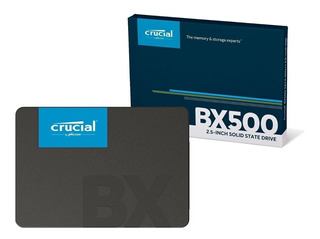 Disco Sólido Ssd Crucial Bx500 240gb 2.5 Notebook Pc