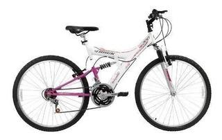 Bicicleta A26 18marchas Full Tb200 Track Bike Branca 13800