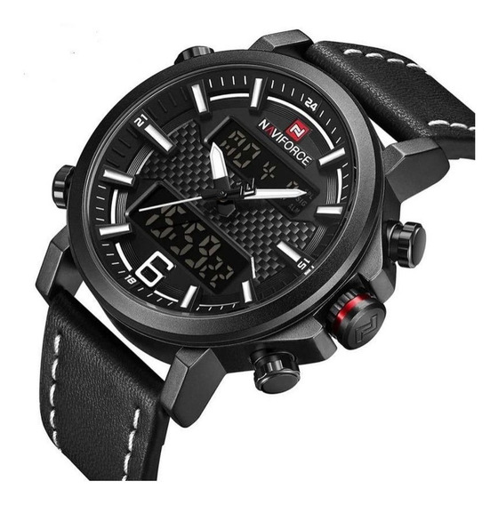 Relógio Naviforce Masculino Original Esportivo Militar