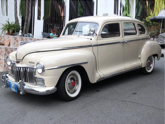 De Soto Custom 1948 99% Original, Placas Azules