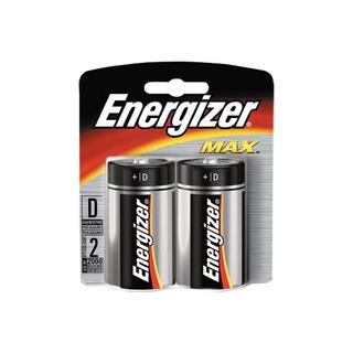 Pila Bateria Alcalina Energizer Max D Blister X2 Unidades