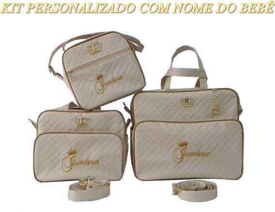 Kit Bolsa Maternidade Menino Personalizada/promoção