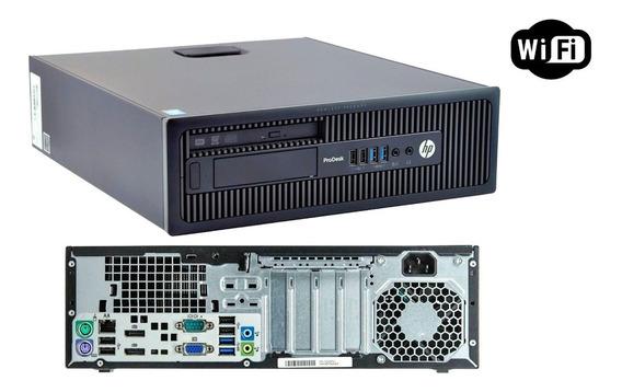Computador Hp Prodesk I5 4590s, 4gb, Hd500gb Wi-fi