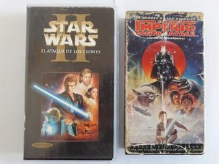 Star Wars Peliculas Vhs (valor Cada Uno)leer Descripción.