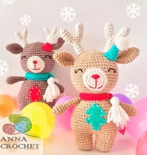 Reno amigurumi navideño | Patrones de crochet de navidad ... | 320x304