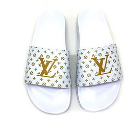 Chinelo Sandalia Louis Vuitton Lv Lançament 12x Sem Juros