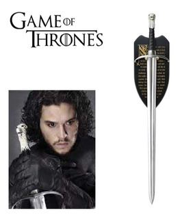 Espada Jonh Snow Game Of Thrones Garra Longa Long Claws