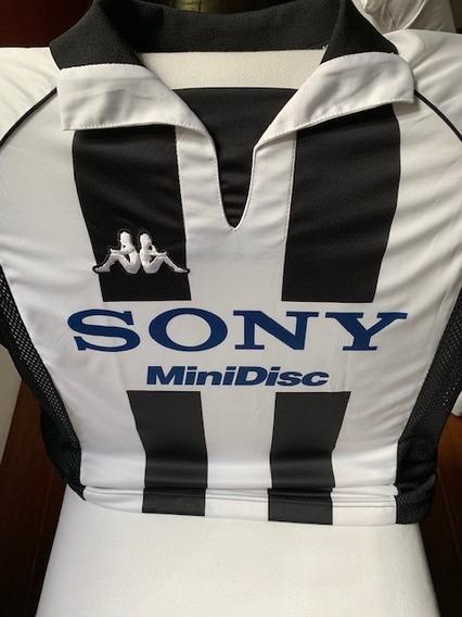 Camisa Futebol Retrô Kappa Oficial Juventus Serie A 1998