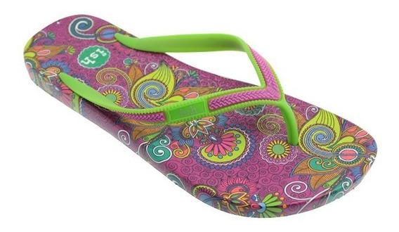 Sandalias Para Dama Con Estapmados Ish Fc-3022