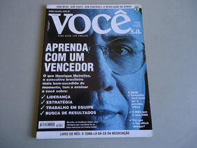 Revista Voce Sa Nº 33 - Henrique Meirelles - Março/2001
