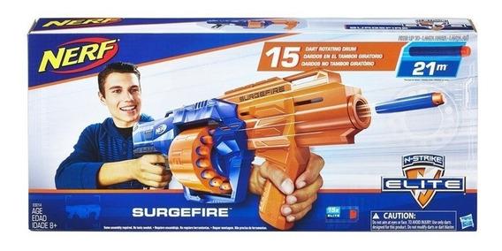 Lançador Nerf Elite Surgefire - Hasbro E0014
