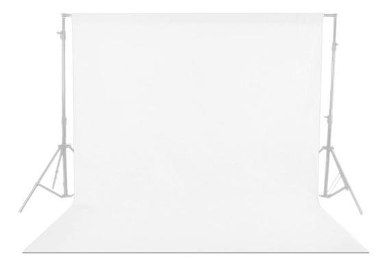 Muslin 3mx5m Branco Fundo Fotográfico Em Tecido Foto E Vídeo