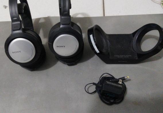 Headphone Sony Recarregavel Mdr-rf925r Original No Estado