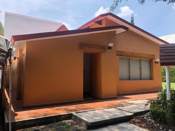 Casa En Un Piso Amplio Jardin 3 Recamaras Arenal Tepepancasa