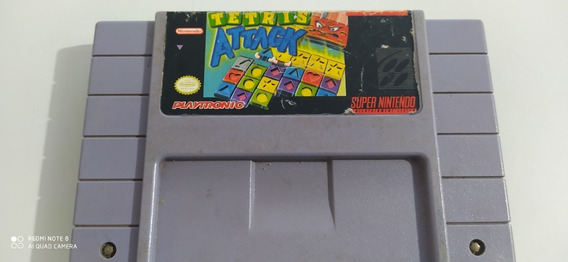 Tetris Attack Snes Original Playtronic