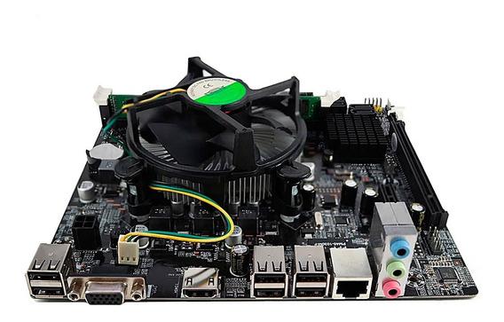 Kit Intel Processador Core I3 2100 + Placa H61 + Cpu Cooler