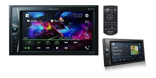 Imagem 1 de 10 de Dvd Automotivo Pioneer  Mvh-g218bt Bluetooth 2 Din Carro