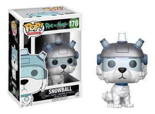 Funko Pop Snowball - Rick And Morty