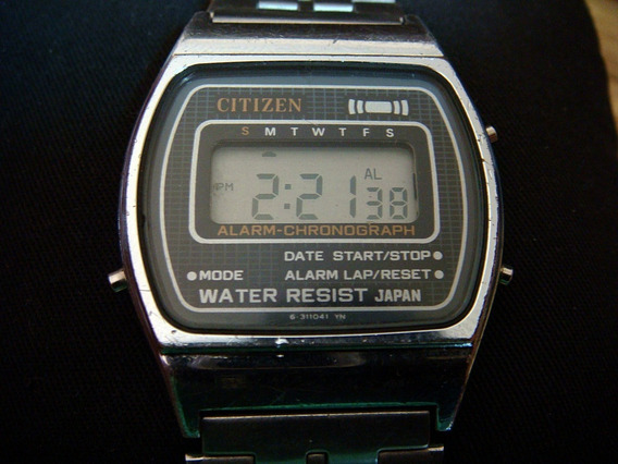 Reloj Citizen Quartz Digital Vintage 70s