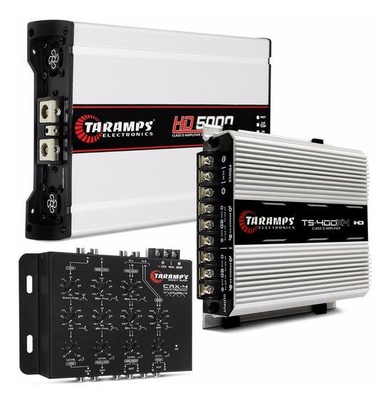 Taramps Ts400x4 + Taramps Hd5000 + Crossover Crx4 Taramps