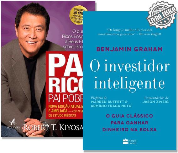 Kit Pai Rico Pai Pobre + O Investidor Inteligente - Promoção
