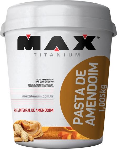 Pasta De Amendoim Max Titanium - 1005g