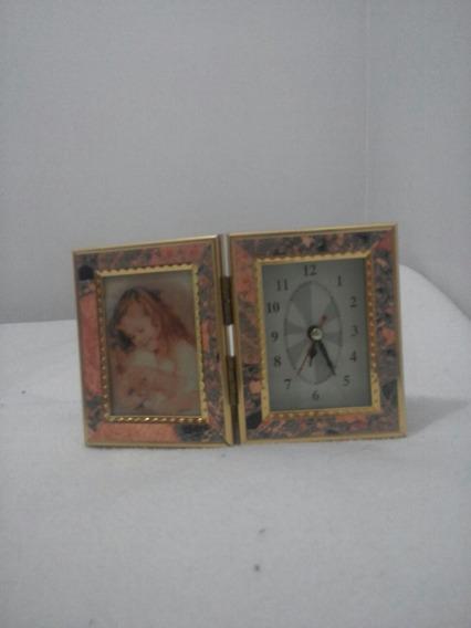 Porta Retrato Relógio.